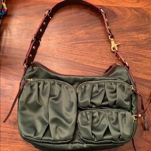 Gorgeous Hunter Green MZ Wallace Purse!